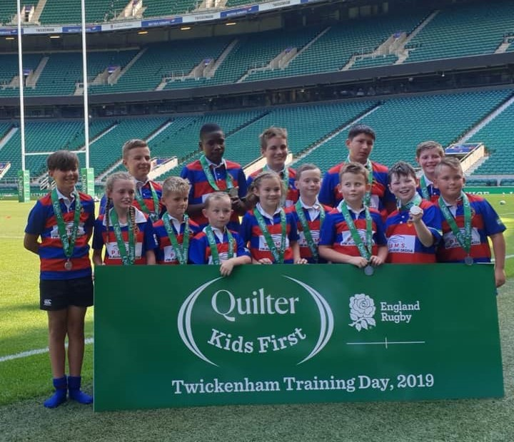 Canvey Rugby Junior Twickenham Training Day small