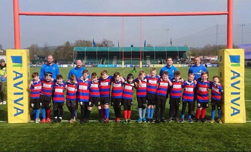 Canvey Rugby Saracens U9 and U10 team e1586889623307