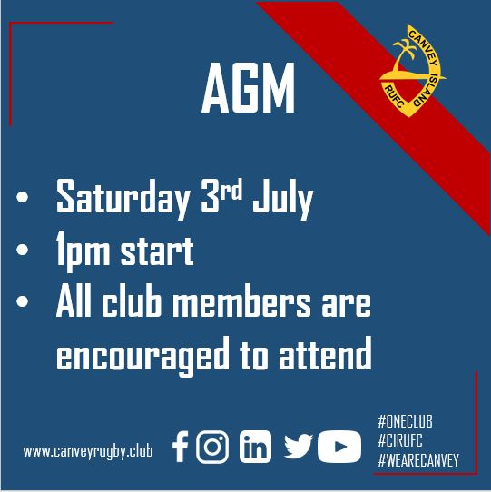 Canvey Rugby AGM 030721