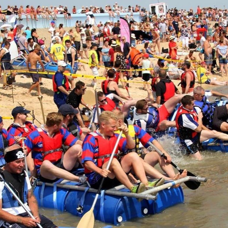 Canvey Rugby Raft Race